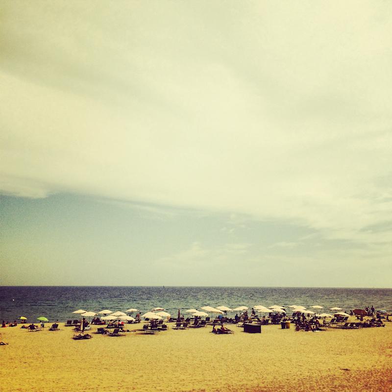 Aj keď sú pláže umelé, to nič nemení na tom, že sú super.