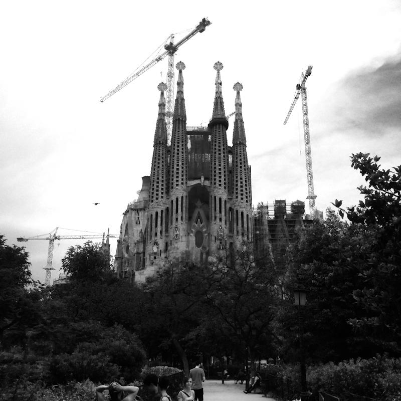 Sagrada Família – turisticky povinná jazda, najnovšie odhady hovoria o dokončení v roku 2026. Uvidíme.