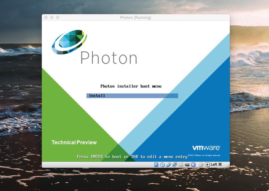 VMware Photon installer