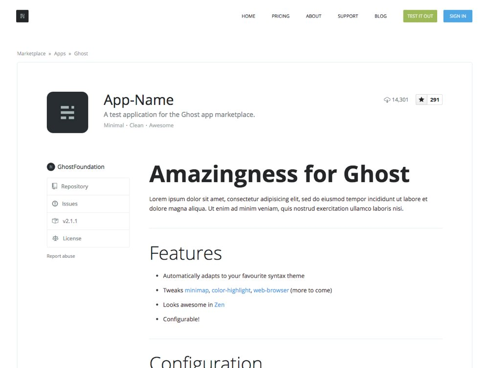 Ghost Apps