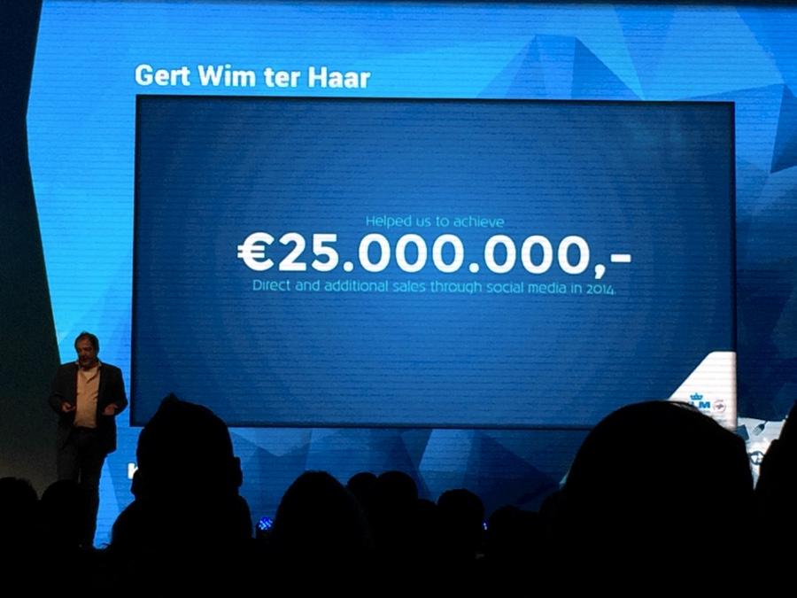 Či sa sociálne siete vyplácajú? KLM cez ne za minulý rok zarobilo 25 miliónov eúr