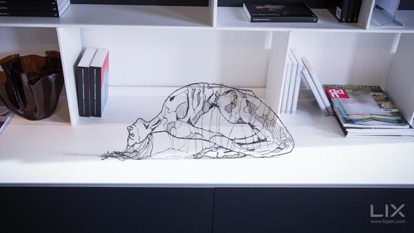 Ďalšie pero na kreslenie 3D objektov