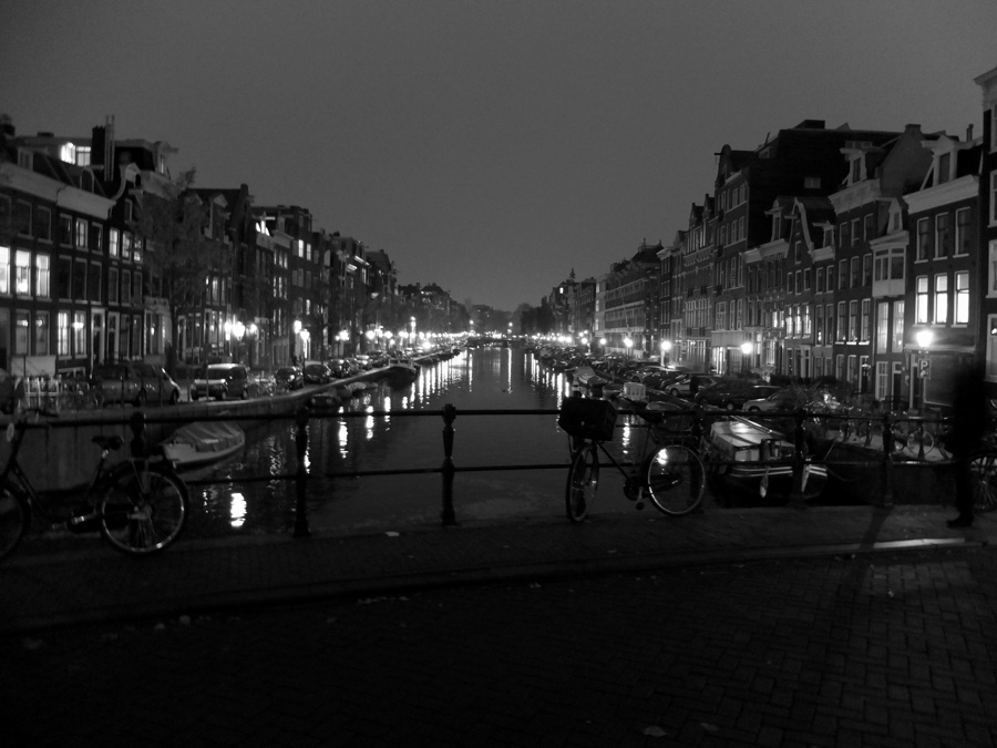 Mesto som videl len v noci