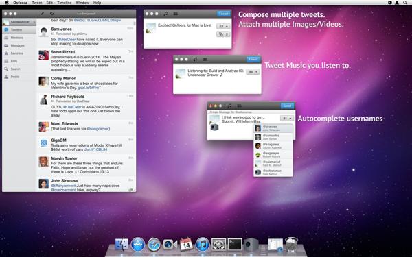 Osfoora už aj pre Mac