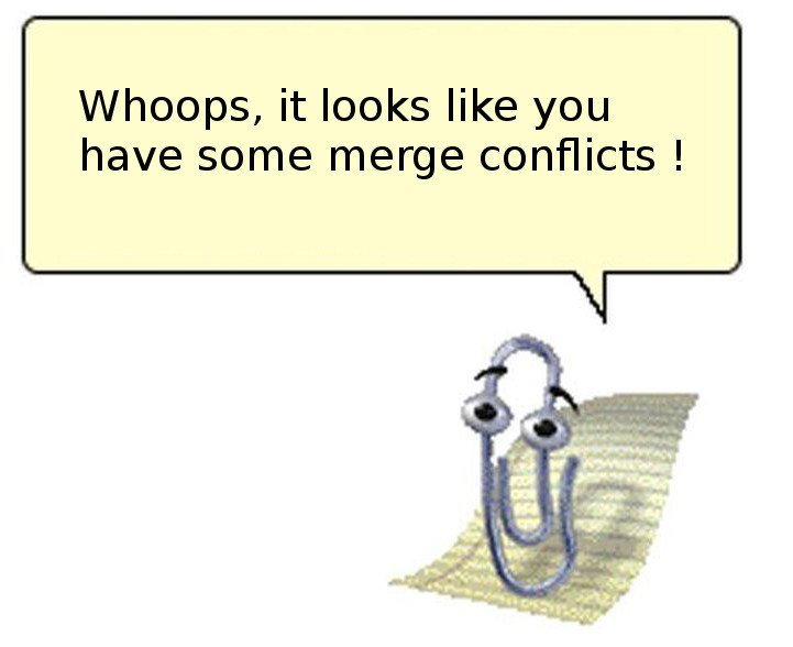 ... some merge conflicts