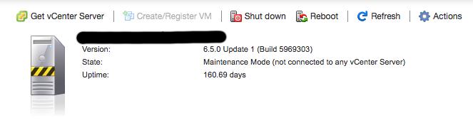 Vmware ESXi 6.5