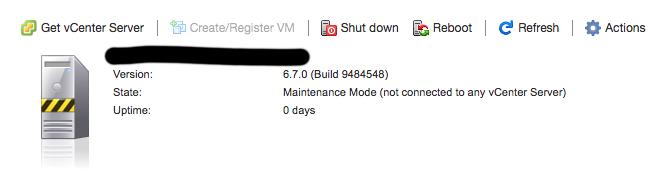 Vmware ESXi 6.7