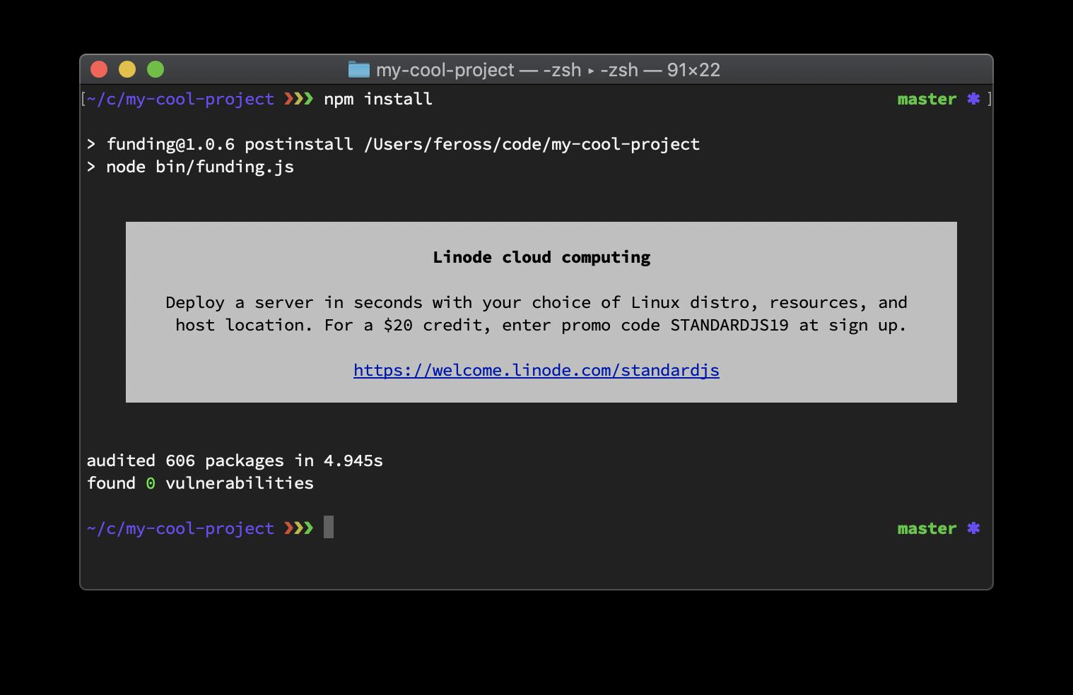 Nevyžiadaná reklama dorazila už aj do textového terminálu – cez JavaScript