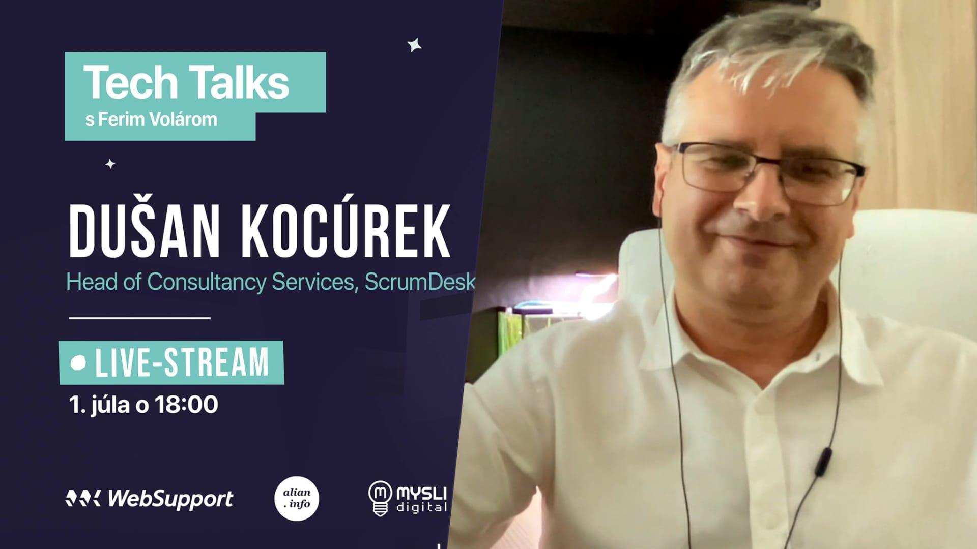 Produktivita a Agile v tímoch (Dušan Kocúrek, ScrumDesk) | Tech Talks