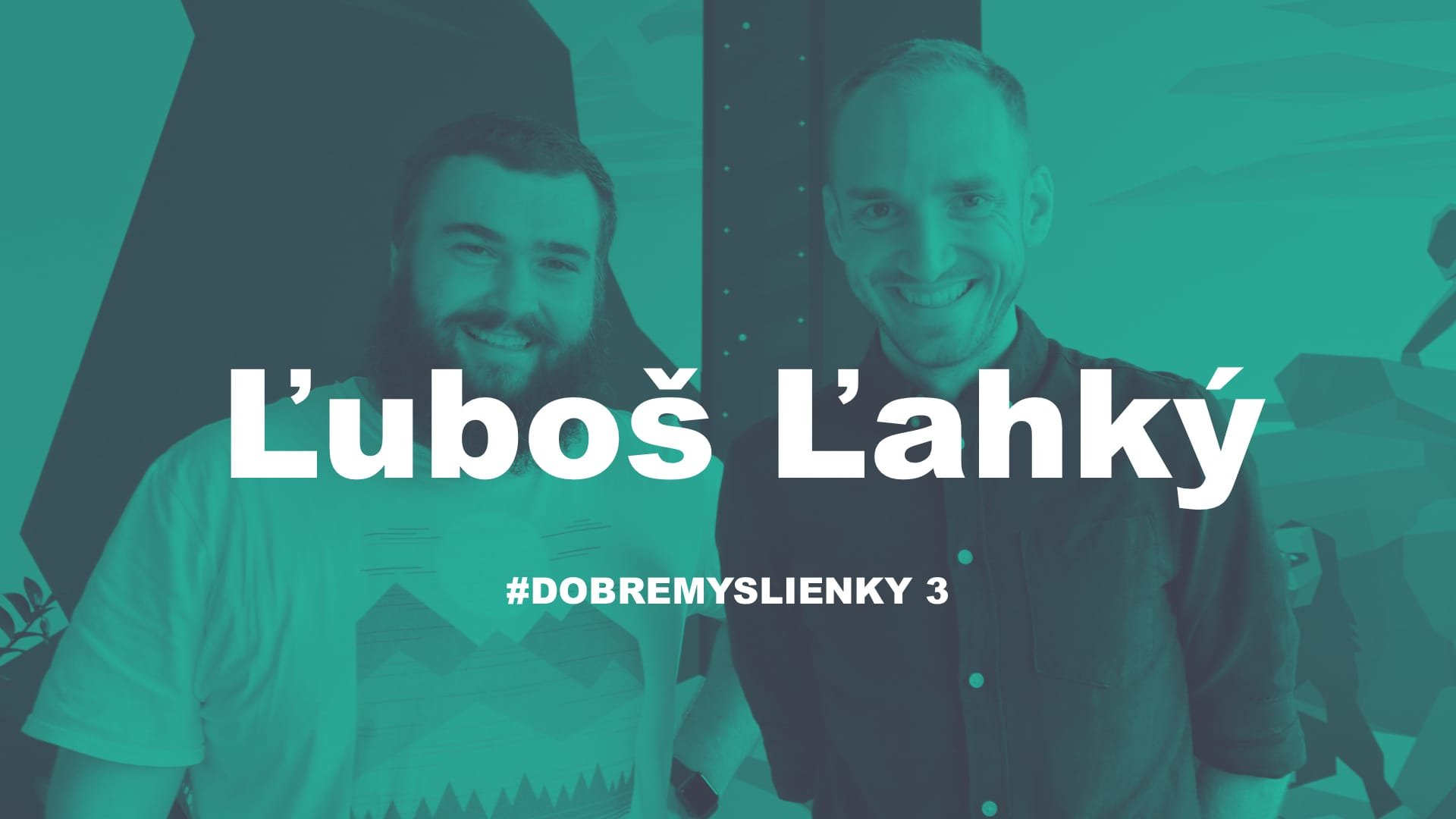 Luboš Ľahký: Baví ma potenciál Websupportu, čo komunikujeme musí byť uveriteľné   #dobremyslienky 3